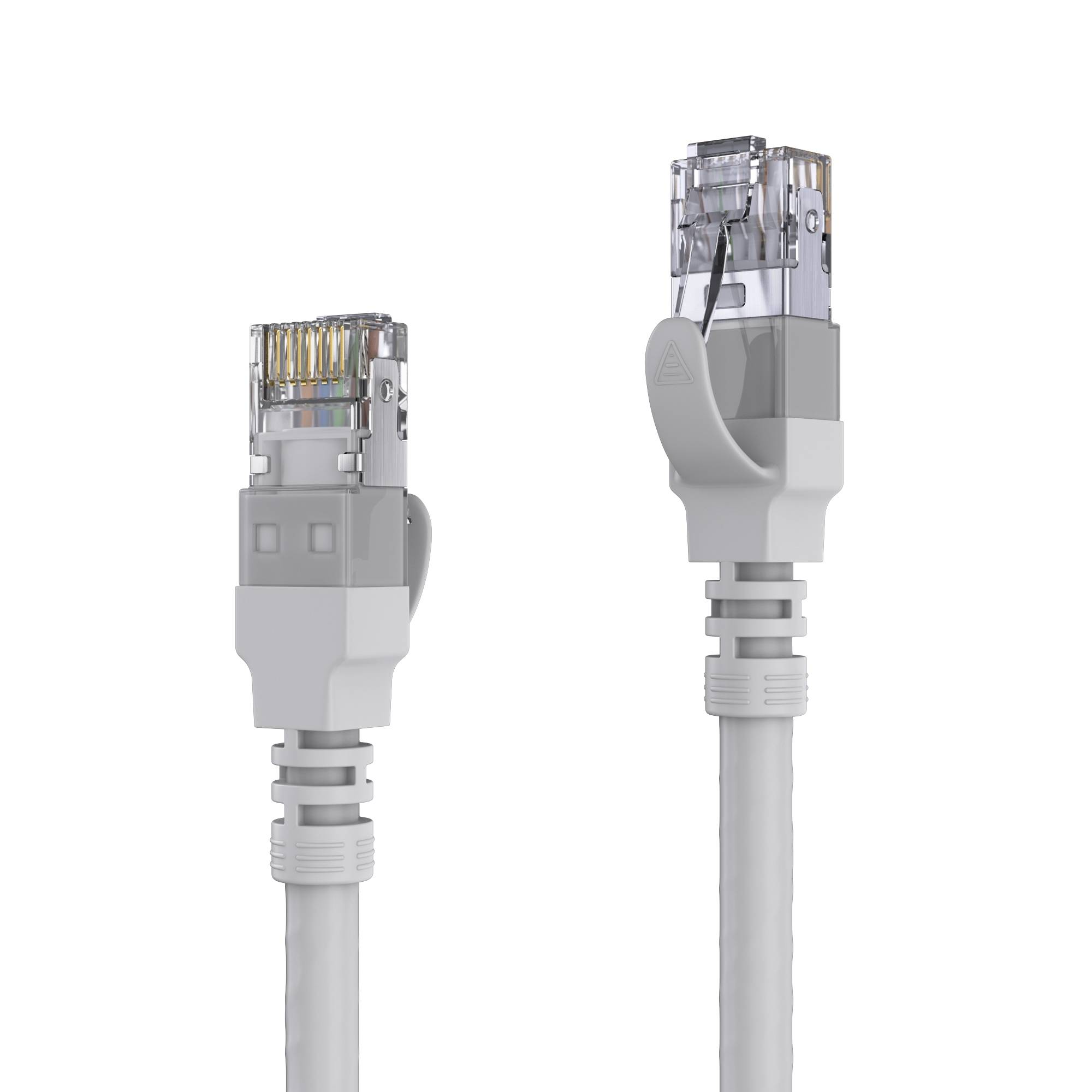 CAT 6A Patch Cable. S/FTP - LSOH - AWG 26 - grey - 45,0m | CAT 6 ...